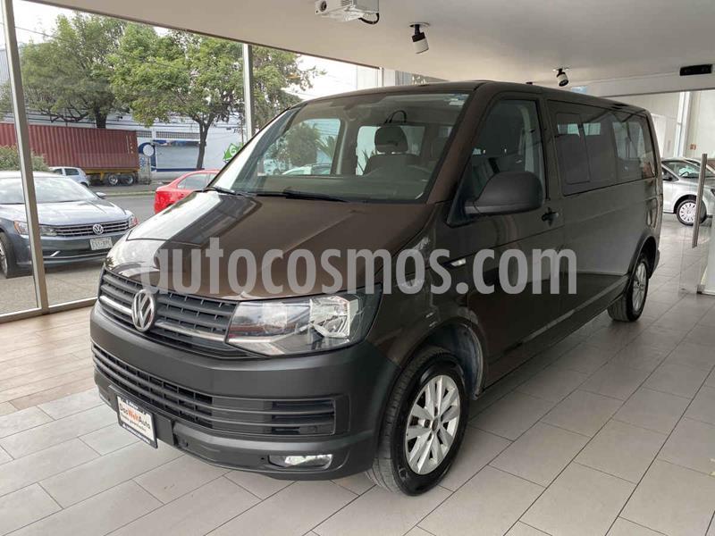 Volkswagen Transporter Pasajeros Aut usado (2019) color Marron precio $530,000