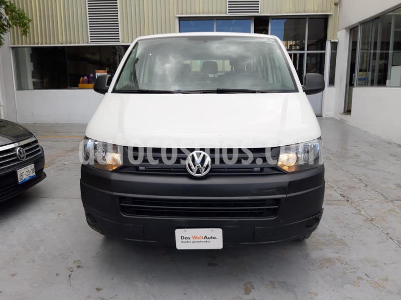 foto Volkswagen Transporter Pasajeros usado (2015) color Blanco Candy precio $260,000