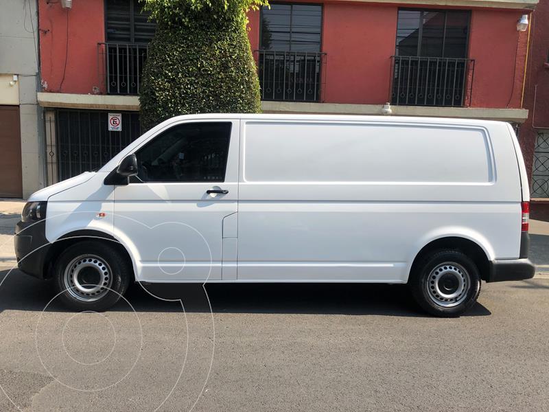 Volkswagen Transporter Cargo Van Puerta Trasera Lateral A/A usado (2012) color Blanco precio $150,000