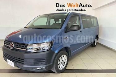 Volkswagen Transporter Pasajeros Aut usado (2018) color Azul precio $499,356