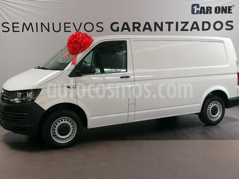 Volkswagen Transporter Cargo Van Puerta Trasera Lateral A/A usado (2017) color Blanco Candy precio $295,000