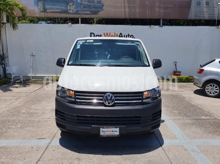 Volkswagen Transporter Cargo Van Puerta Trasera Lateral A/A usado (2017) color Blanco Candy precio $319,900