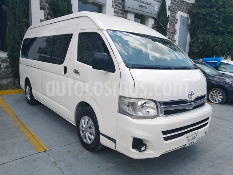 Volkswagen Transporter Pasajeros usado (2013) color Blanco precio $279,000