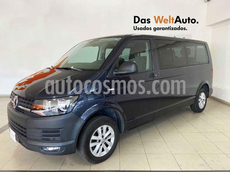 Volkswagen Transporter Pasajeros Aut usado (2019) color Azul precio $499,995