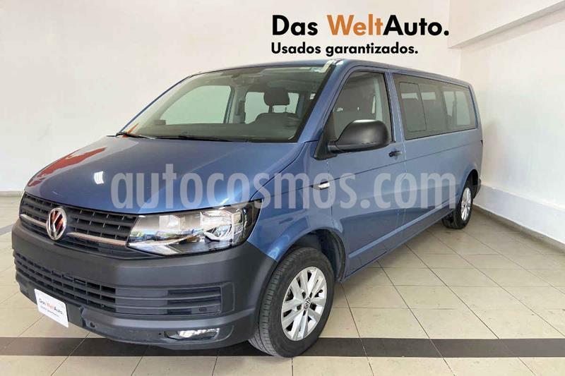 Volkswagen Transporter Pasajeros Aut usado (2018) color Azul precio $480,356