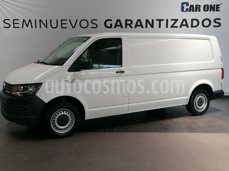 Volkswagen Transporter Cargo Van Puerta Trasera Lateral A/A usado (2018) color Blanco Candy precio $329,900
