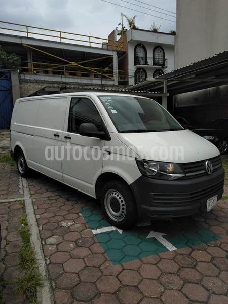 Volkswagen Transporter Cargo Van Puerta Trasera Lateral usado (2017) color Blanco Candy precio $300,000