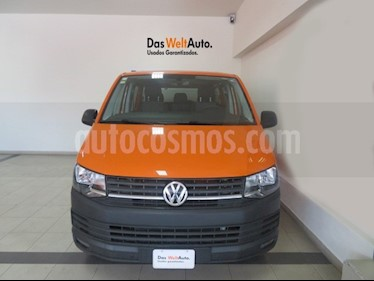Foto venta Auto usado Volkswagen Transporter Pasajeros Aut (2018) color Naranja precio $519,941