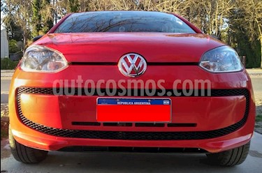 Volkswagen up! 3P 1.0 take up! + 2016/17 usado (2016) color Rojo Flash precio $380.000