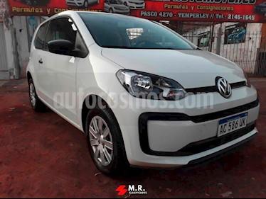 Foto venta Auto usado Volkswagen up! 3P 1.0 take up! (2018) color Blanco Cristal precio $395.000