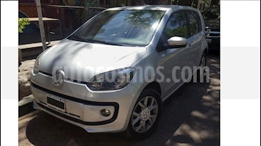 Volkswagen up! 5P 1.0 high up! 2016/17 usado (2016) color Gris precio $364.000