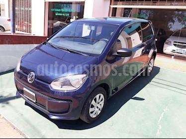 Volkswagen up! 3P take up! usado (2015) color Azul precio $570.000