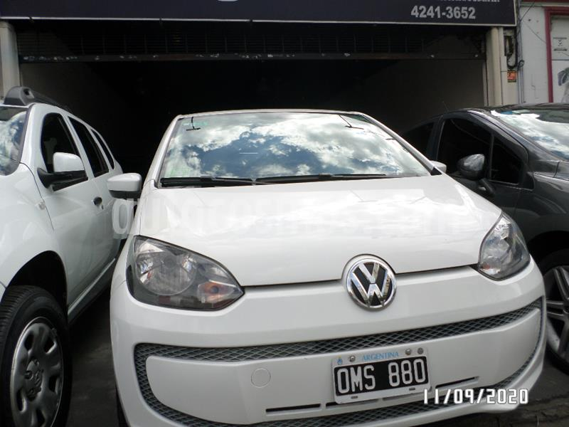 Volkswagen up! 5P take up! usado (2014) color Blanco precio $635.000