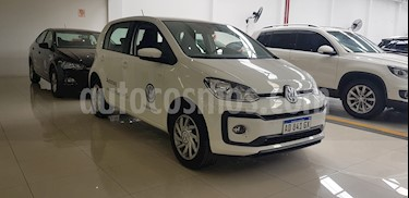Volkswagen up! 5P 1.0 high up! usado (2019) color Blanco Cristal precio $800.000