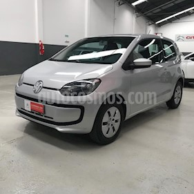 Volkswagen up! 3P take up! usado (2017) color Gris Claro precio $640.500