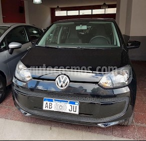 Volkswagen up! 5P take up! usado (2017) color Negro precio $490.000