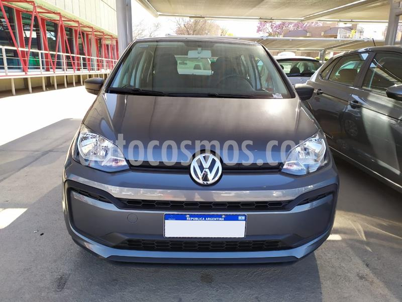 Volkswagen up! 5P 1.0 take up! usado (2019) color Gris precio $905.000