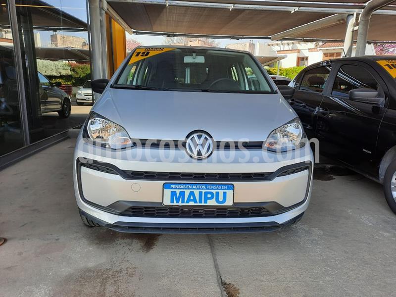 Volkswagen up! 5P 1.0 take up! usado (2019) color Gris precio $910.000
