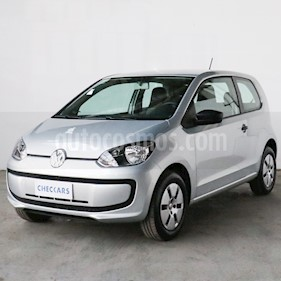 Volkswagen up! 3P 1.0 take up! usado (2017) color Plata precio $649.000