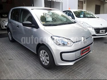 Volkswagen up! 5P take up! usado (2016) color Gris Claro precio $460.000