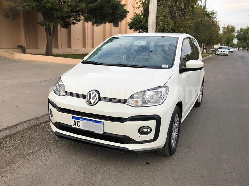 Volkswagen up! 3P 1.0 move up! usado (2018) color Blanco Cristal precio $820.000