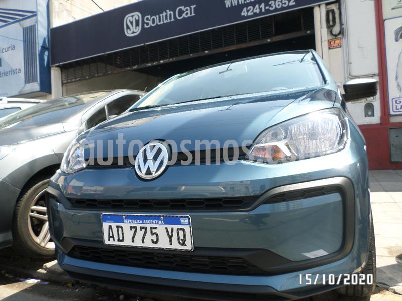 Volkswagen up! 5P take up! usado (2019) color Azul precio $940.000