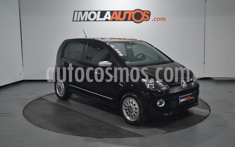 Volkswagen up! 5P 1.0 black up! usado (2016) color Negro precio $650.000