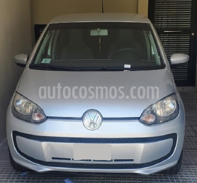 Volkswagen up! 5P 1.0 move up! usado (2015) color Plata precio $730.000