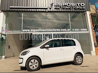 Volkswagen up! 5P take up! usado (2015) color Blanco precio $590.000