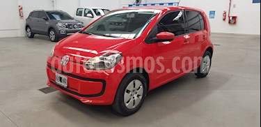 Volkswagen up! 5P 1.0 move up! usado (2015) color Rojo Flash precio $490.000