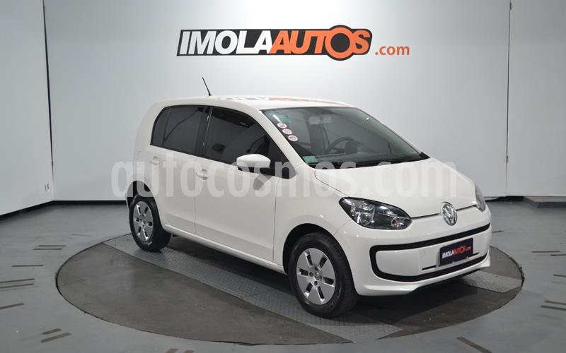 Volkswagen up! 5P 1.0 move up! usado (2015) color Blanco Cristal precio $590.000