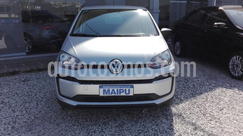 Volkswagen up! 5P 1.0 take up! usado (2020) color Gris Platina precio $1.100.000