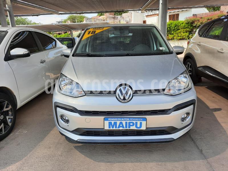 Volkswagen up! 5P 1.0 hig up! usado (2018) color Gris precio $970.000