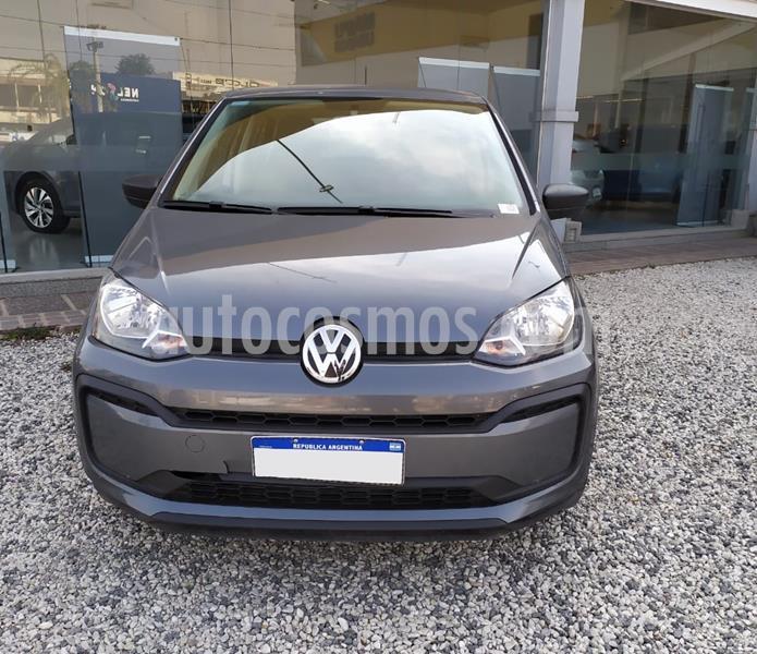 Volkswagen up! 5P 1.0 take up! usado (2019) color Gris precio $980.000