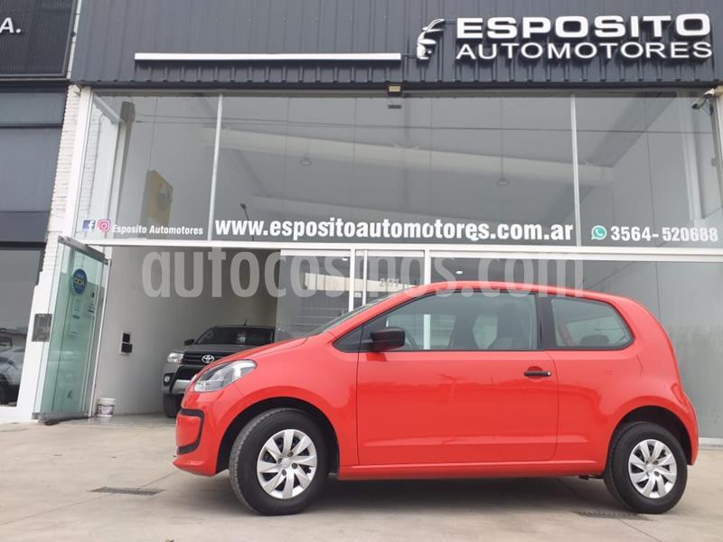 Volkswagen up! 3P take up! usado (2015) color Rojo precio $625.000