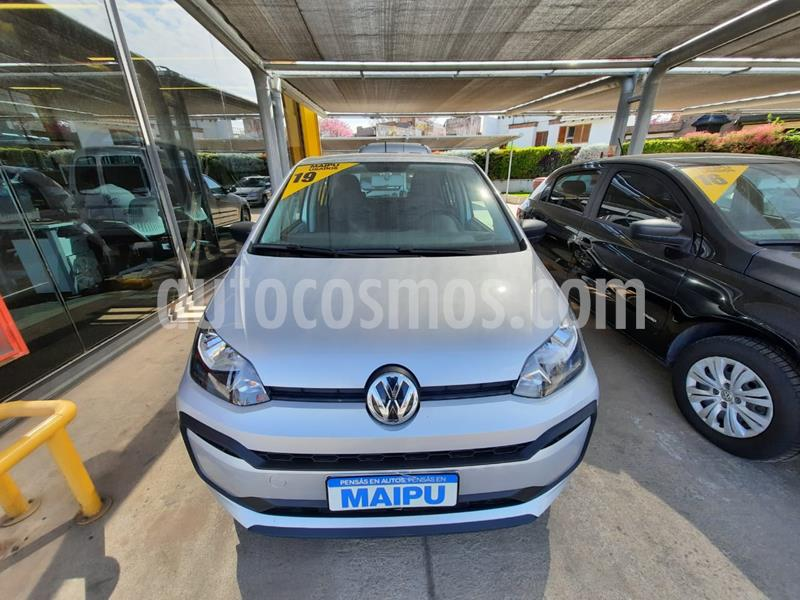 Volkswagen up! 5P 1.0 take up! usado (2019) color Gris precio $910.000