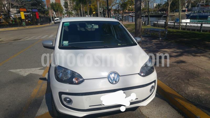 Volkswagen up! 5P 1.0 white up! usado (2015) color Blanco precio $630.000