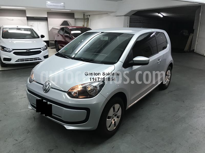Volkswagen up! 3P 1.0 move up! usado (2015) color Gris precio $520.000