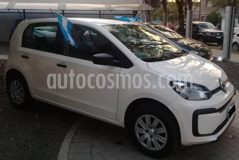 Volkswagen up! 5P 1.0 take up! + usado (2018) color Blanco Cristal precio $780.000
