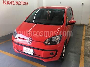 Volkswagen up! 5P 1.0 hig up! usado (2015) color Rojo precio $458.000