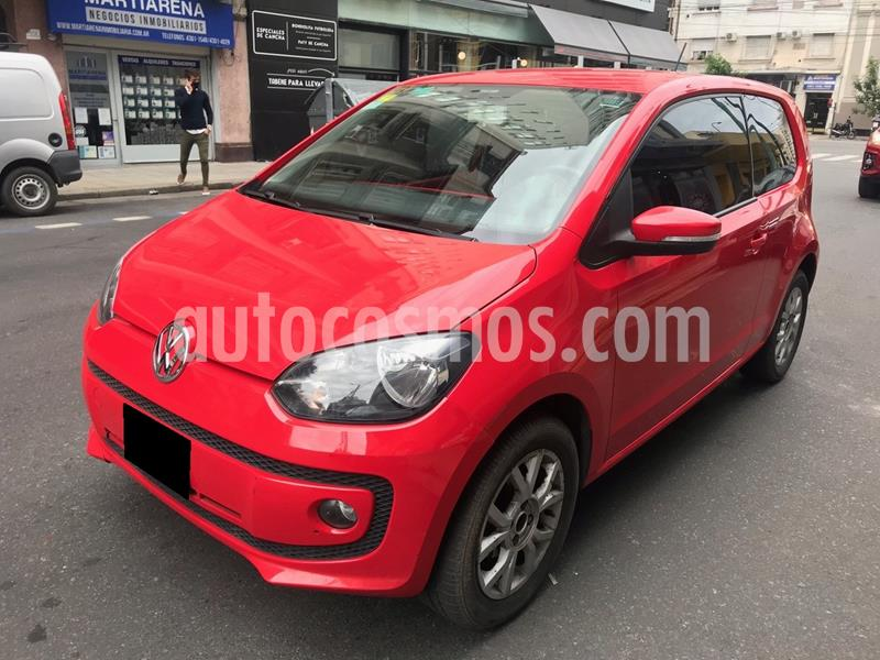 Volkswagen up! 3P 1.0 high up! usado (2014) color Rojo Flash precio $799.000