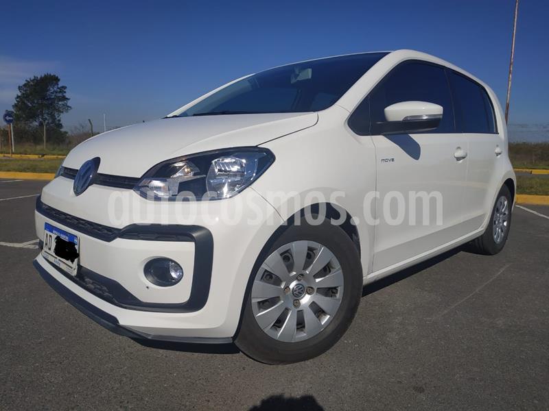 Volkswagen up! 5P 1.0 move up! usado (2018) color Blanco Cristal precio $840.000