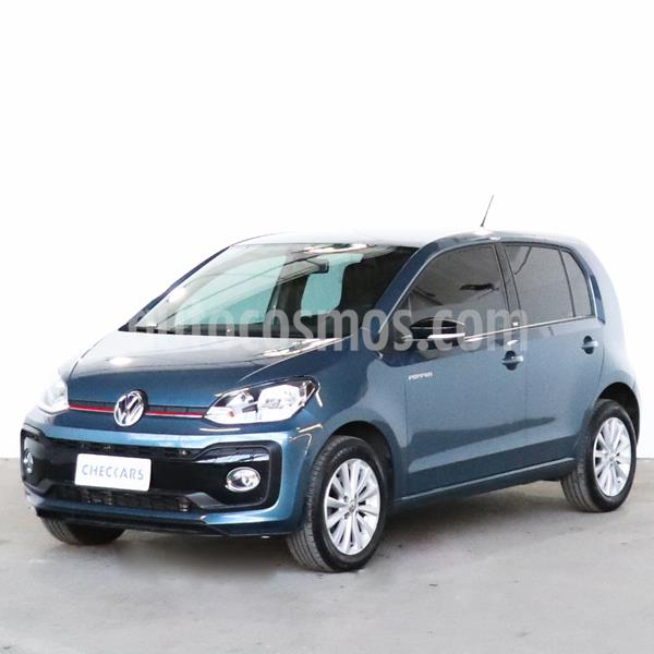 Volkswagen up! 5P 1.0T Pepper up! usado (2018) color Azul Cristal precio $1.296.000
