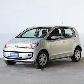 Volkswagen up! 5P 1.0 high up! usado (2014) color Plata precio $452.000