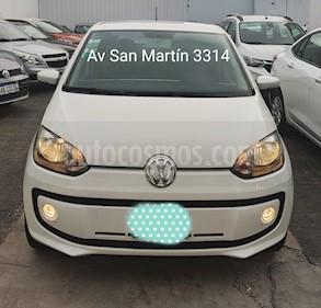 Volkswagen up! 5P 1.0 hig up! usado (2014) color Blanco Cristal precio $479.900