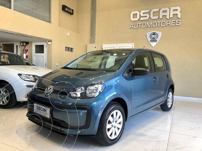 Volkswagen up! 5P 1.0 take up! + usado (2020) color Azul Cristal precio $1.249.000