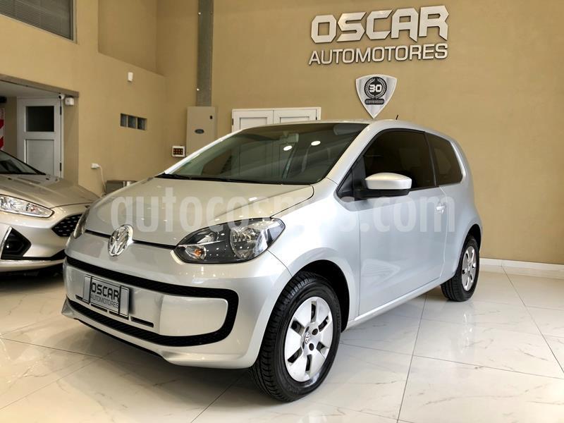 Volkswagen up! 3P 1.0 move up! usado (2015) color Plata precio $729.000