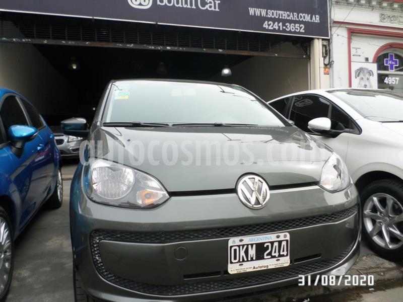 Volkswagen up! 5P take up! usado (2014) color Gris Oscuro precio $635.000