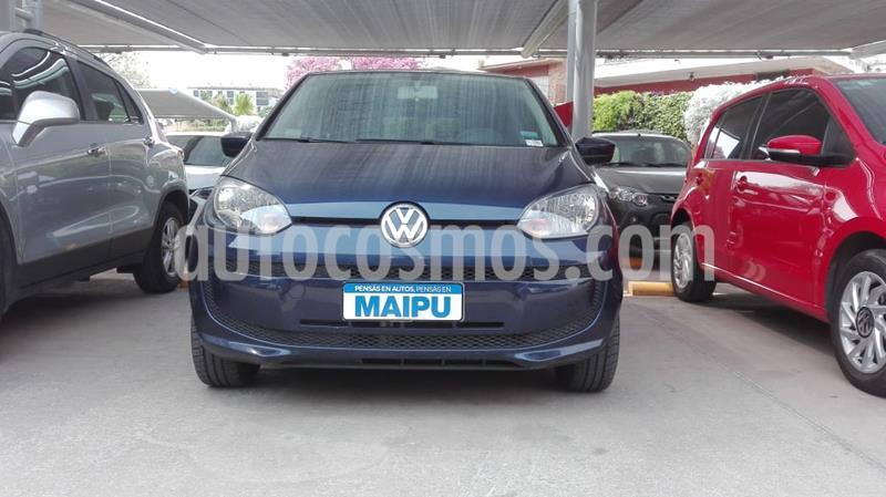 Volkswagen up! 5P 1.0 move up! usado (2016) color Azul Noche precio $740.000