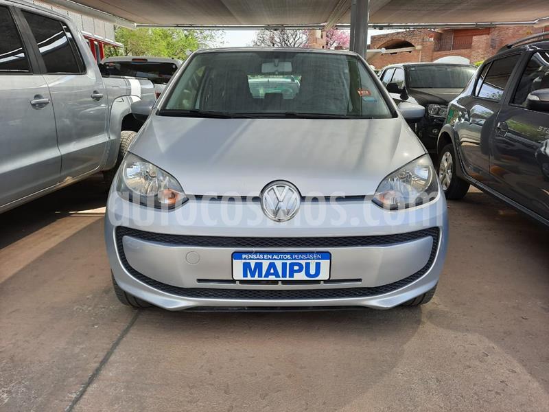 foto Volkswagen up! 3P 1.0 move up! usado (2014) color Gris precio $590.000